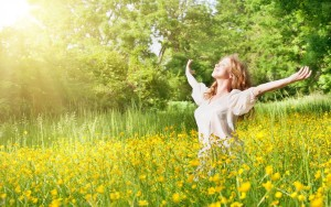 Glückliches Young Living Mitglied - Wellness und finanzielle Gesundheit pur!